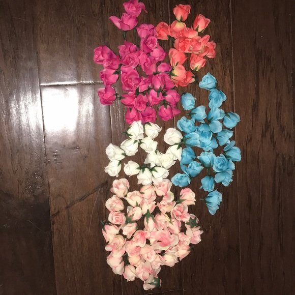 Other 100 Small Fake Flowers Poshmark
